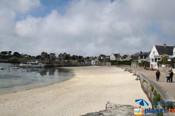 Main beach of Batz island - Brittany