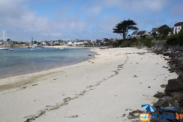 Porz Kernok beach - Batz island - France