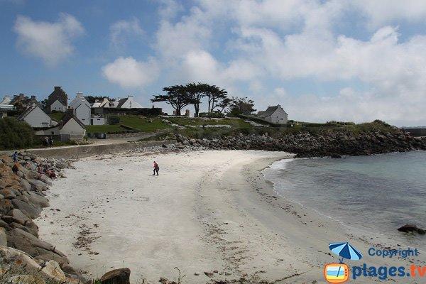 Porz Leien beach - Batz island