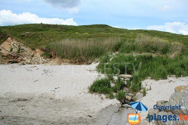 Environnement de la plage de Porz Liogan - Le Conquet