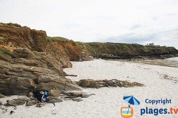 plage de Porz Liogan - Le Conquet