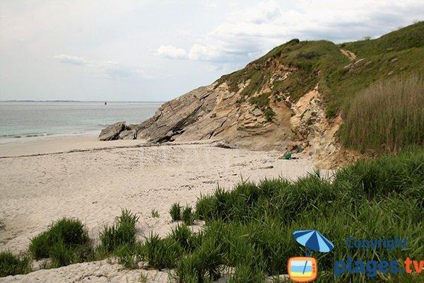 Photo de la plage de Porz Liogan à Le Conquet