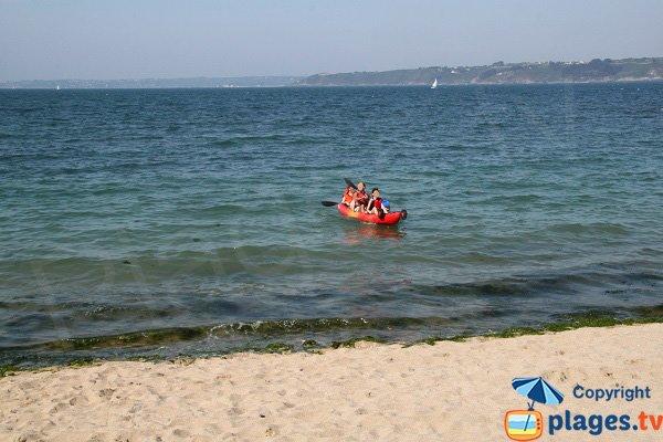 Accès à la plage de Porz Mellec