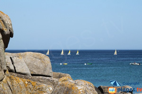 Sailboats in Cléder