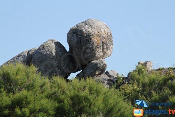Rochers sculptés à Cléder