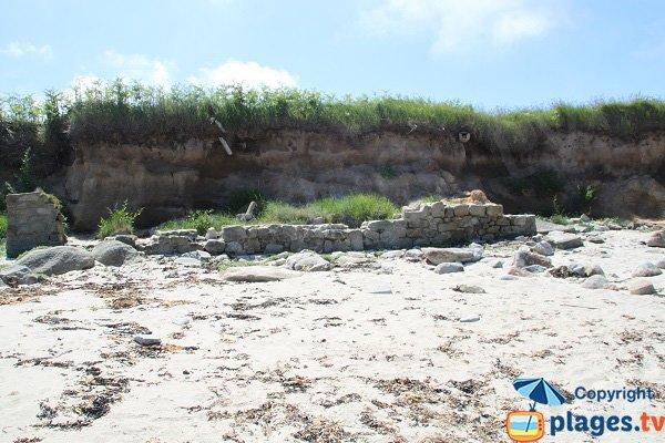 Falaises autour de la plage de Porz Vihan - Ile de Batz