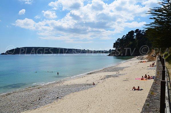 Porzic beach on the Crozon peninsula