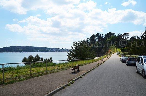 Parking of Porzic beach