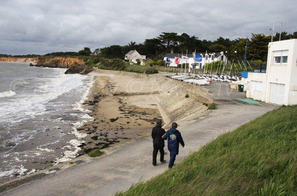 Photo of Poudrantais beach in Pénestin - Brittany
