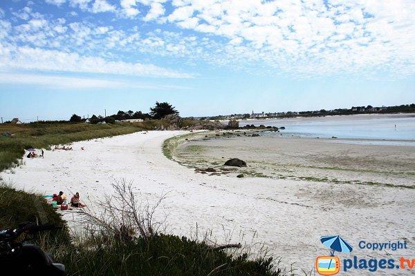 Photo de la plage de Poul Feunteun - Kerlouan