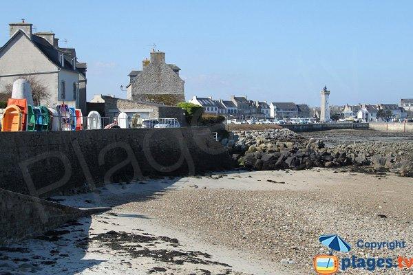 Annexes of Poul Louz beach of Roscoff