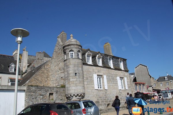 Typical home of Roscoff