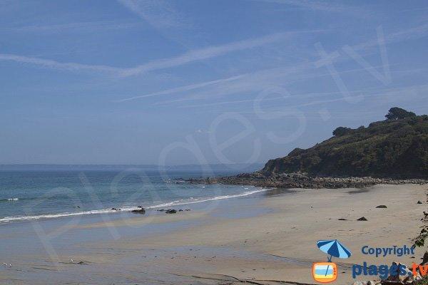 Photo de la plage Poul Rodou à Locquirec