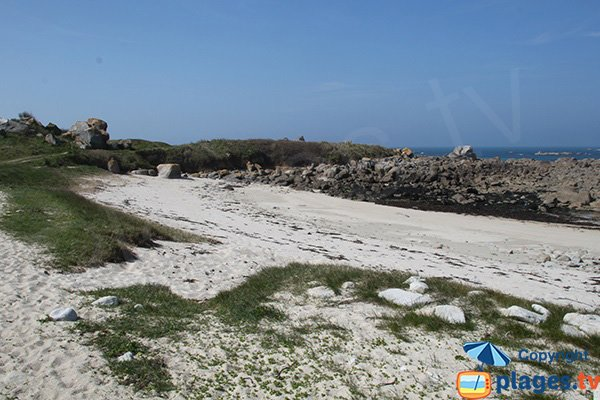 Photo de la plage de Poulennou à Cléder - Bretagne
