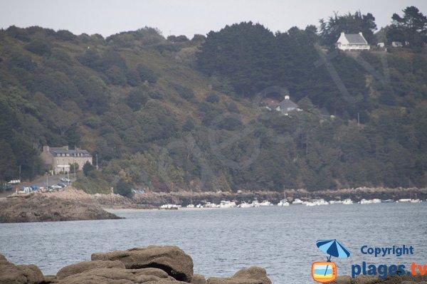 Port du Beg-Hent - vue depuis Trédrez