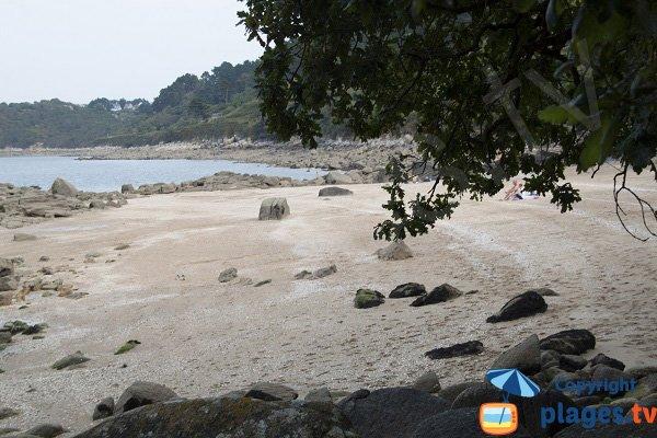 Photo des plages de Poull ar Mad Dogan à Trédrez Locquémeau