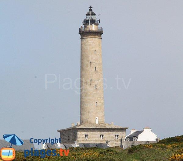 Lighthouse of the island of Batz - Poull C'Horz
