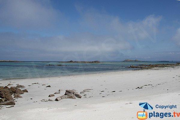 Beach of Poull Zarab - Ile Batz