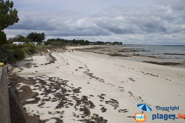 Photo de la plage de Poulperneau à St Pierre Quiberon
