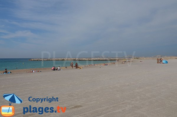 Photo of Prado Sud beach in Marseille