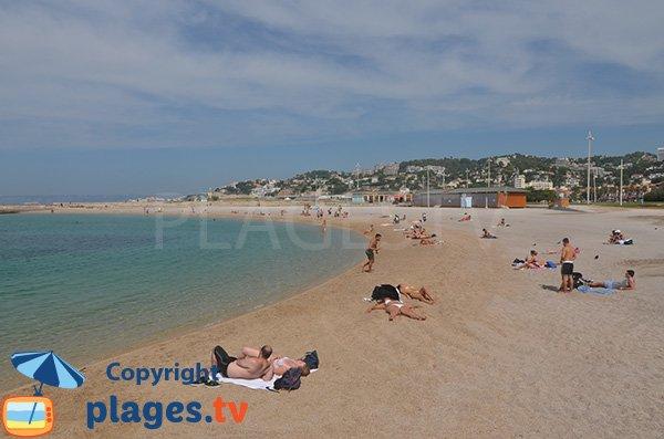 Prado Sud Beach In Marseille Bouches Du Rhone France Plages Tv