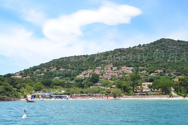 Private beach in Pramousquier - Lavandou