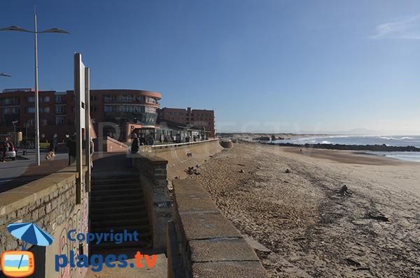Accès à la plage Prevent de Capbreton