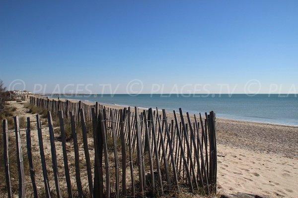 Spiaggia Prévost a Palavas les Flots in Francia