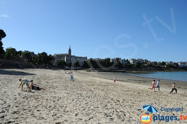 Photo of the Prieuré beach in Dinard
