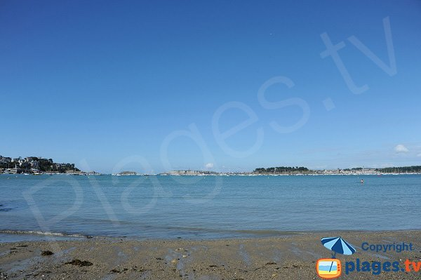 View on St Malo from Dinard