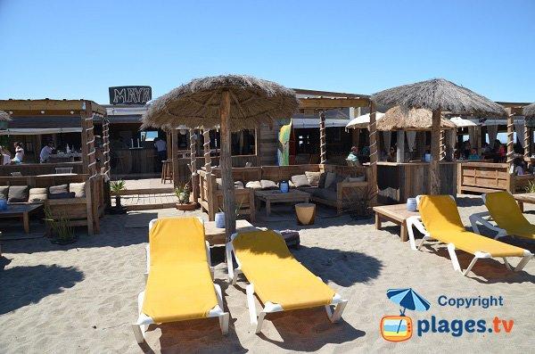 Location de matelas sur la plage sud de Torreilles - Maya