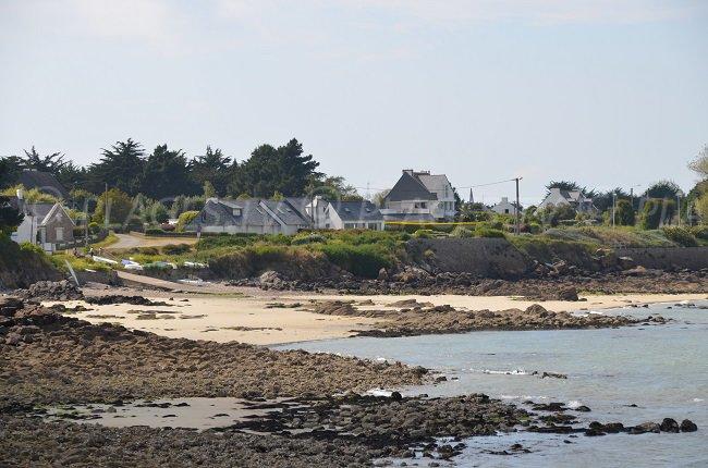 Une plage à Quiberon qui rappelle le nord de la Bretagne