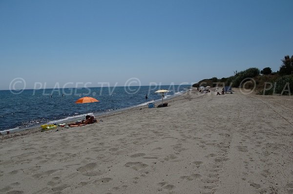 Spiaggia a Cervione - Prunete