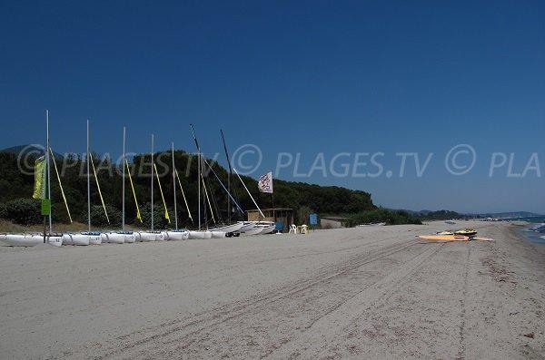 Sport acquatici in Cervione - Spiaggia di Prunete