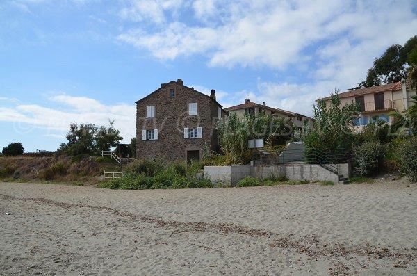 Ambiente della spiaggia Prunete