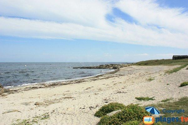 Photo de la plage de Pulante sur l'ile d'Yeu