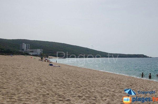 Partie centrale de la plage de Puraja - Propriano