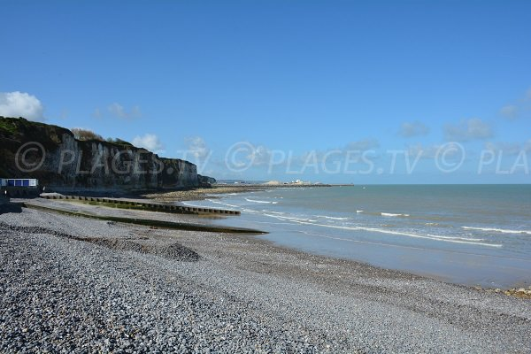 Photo de la plage de Puys à Dieppe