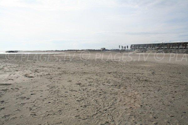Plage des Quilles et plage de la Fontaine à Sète