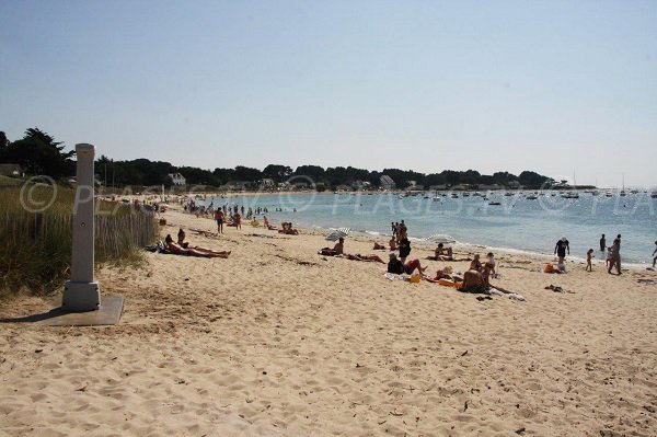 Photo of Quimiac beach in summer in France