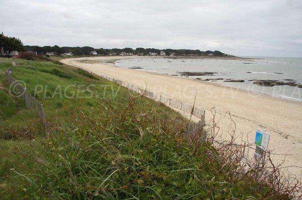 Photo de la plage de Quimiac - Baie de Lanséria