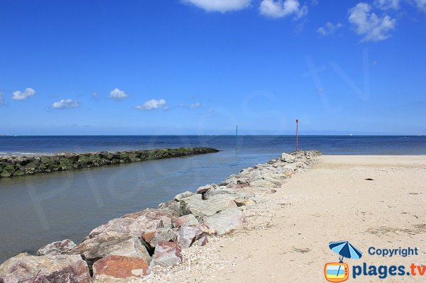Estuaire de La Sinope à Quinéville