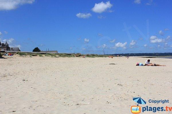 Photo de la plage de Quinéville dans la Manche
