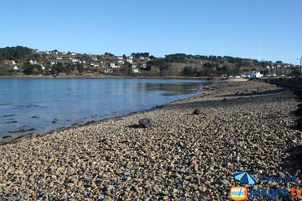 Photo de la plage de Quinquai à Le Diben