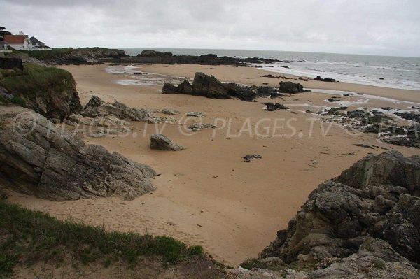 Photo of Quiobert beach in Batz sur Mer