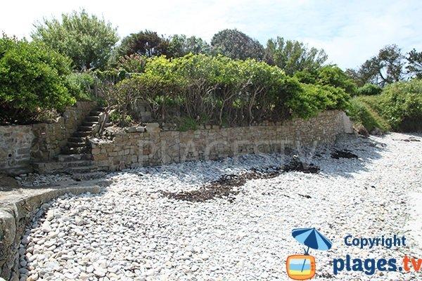 Galets sur la plage de Quistillic - Landéda