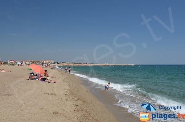 Spiaggia a Argelès per cani - Le Racou