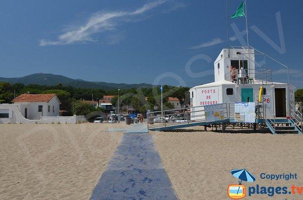posto di pronto soccorso - Spiaggia Le Racou