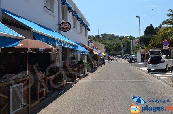 Restaurants proche de la plage du Racou