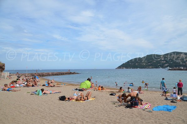 Raguette beach with Esterel - Mandelieu